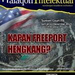 "Halaqoh Intelektual: ""Kapan Freeport Hengkang?"""
